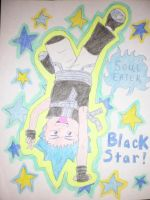 Black Star - Soul Eater by AnaturalBeauty