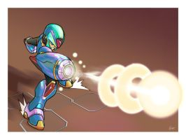 The Blue Bomber by tonytorrid