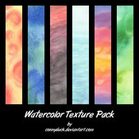 Watercolor Texture Pack by ConnyDuck