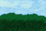 Green Hills and Blue skies by 7WildFire7