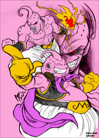 Color Buu by DarkLaicram