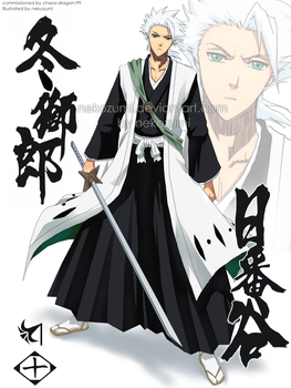 BLEACH - grown up HITSUGAYA by Jennaris