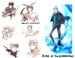 Rise of the Guardians by aphin123