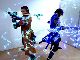 Basara Cosplay: Final Attack! by SawaKun