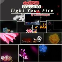 light your fire textures by Komaldesignz by neelohoney