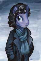 Pony Sherlock by MilesofCrochet