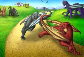 A Game of Tag by Areetala