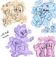 Coco the mama doodles by HimeMikal