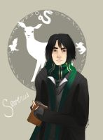 Harry Potter: Severus Snape by GamancayOkami