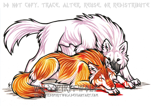 Here For You - Gypsy And Blair by WildSpiritWolf