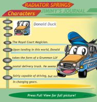 Radiator Springs Donald by combatmaster