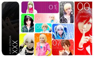 Kagerou project : Happy new year 2014 [Ver.Cos] by azukajung