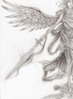 Nike, Winged Victory by Sorelliena