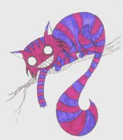 Cheshire Cat by joshsbrophy
