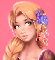 Rapunzel - Tangled by equillybrium