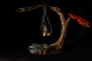 Bat Sculpture by Miki-
