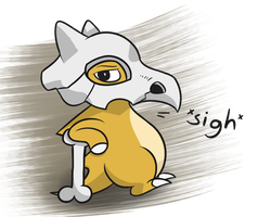 Cubone by hip-indeed