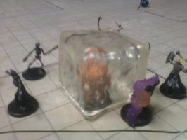 Gelatinous Cube in action. by Zombie-Kawakami
