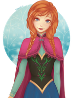 Princess Anna by cutieflowerr