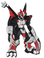 Request: Akedramon by zeromarusaur