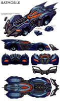 Batmobile by Chuckdee