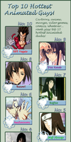 My Top-10 Hottest Anime Guys! by BLURRYxPUNKxRAINBOW