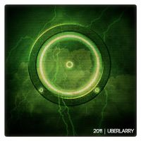 Green Tron Legacy Light Disc by uber-larry
