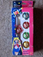sailor moon r communicator watches bandai by SuperMoonie