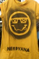 Nerdvana tee by happy-smiley-robot