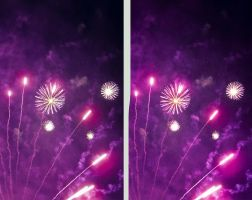Fireworks Crossview 3D by zour