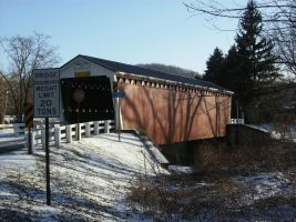 Thomas Covered Bridge by Madame-Fluttershy