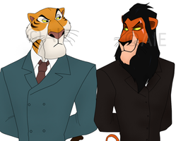 C.O: Businessmen by The-PirateQueen