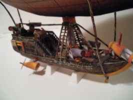 Papercraft Airship LZ 200 by divinewindnsew