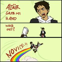 Altair grab my by jassessino