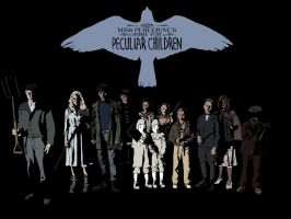 Miss Peregrine's home for peculiar children by AnteikuMask