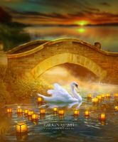 The Swan Kingdom by vanesagarkova