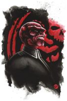 Red Skull by Weidel