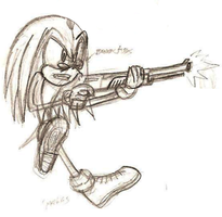 Sketch - Sonic Style 03 by sweeneykitkat
