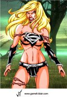 Savage Land Evil Supergirl by Mythical-Mommy