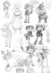 Psychonauts Sketches -spoilers by Empty-Smile