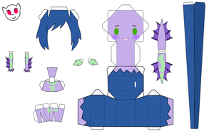Leli papercraft c: by demonreapergirl