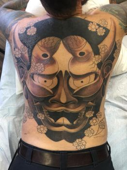 Hannya in progress by TimOrth