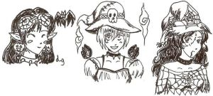 Halloween gaia avis by Particularlyme