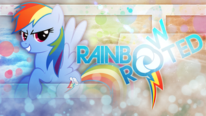 Rainbow and Rooted Dash Style by KibbieTheGreat