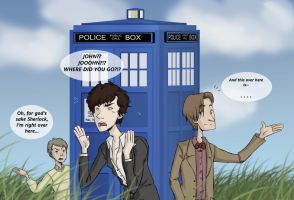 Who meets Holmes by ThatsMyAlibi