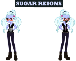 WWE/EG Sugar Reigns by SKULLuigi
