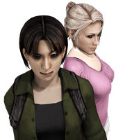 Cindy Lennox and Yoko Suzuki | Render by ElyStrife