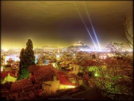 Athens Christmas by Kirlian667