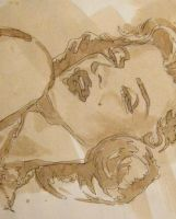 Marilyn: ICONS IN COFFEE by cafeartiste
