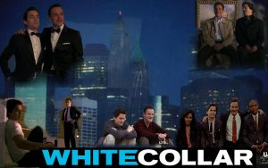 Neal and Peter White Collar Desktop by WildHorseFantasy